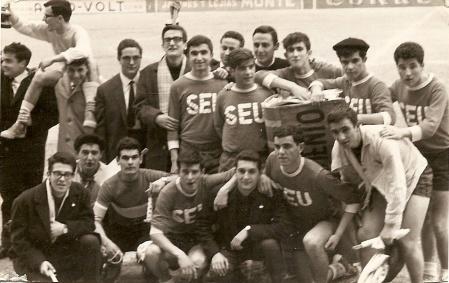 Partido futbol Paso del Ecuador 3ª Promoción