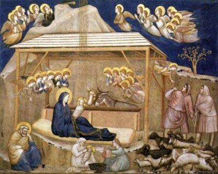 La Natividad. Giotto 1267-1337
